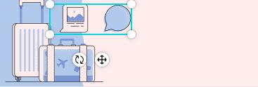 Canvaの使い方 素材の消し方